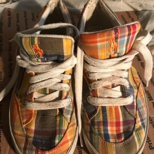 Polo by Ralph Lauren Checkered Tennis Shoes